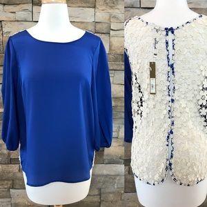Lauren Conrad blue top